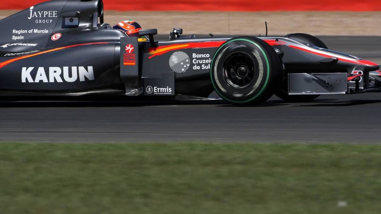 Karun Chandhok (IND), Hispania Racing F1 Team HRT, British Grand Prix, 09.07.2010 Silverstone, England