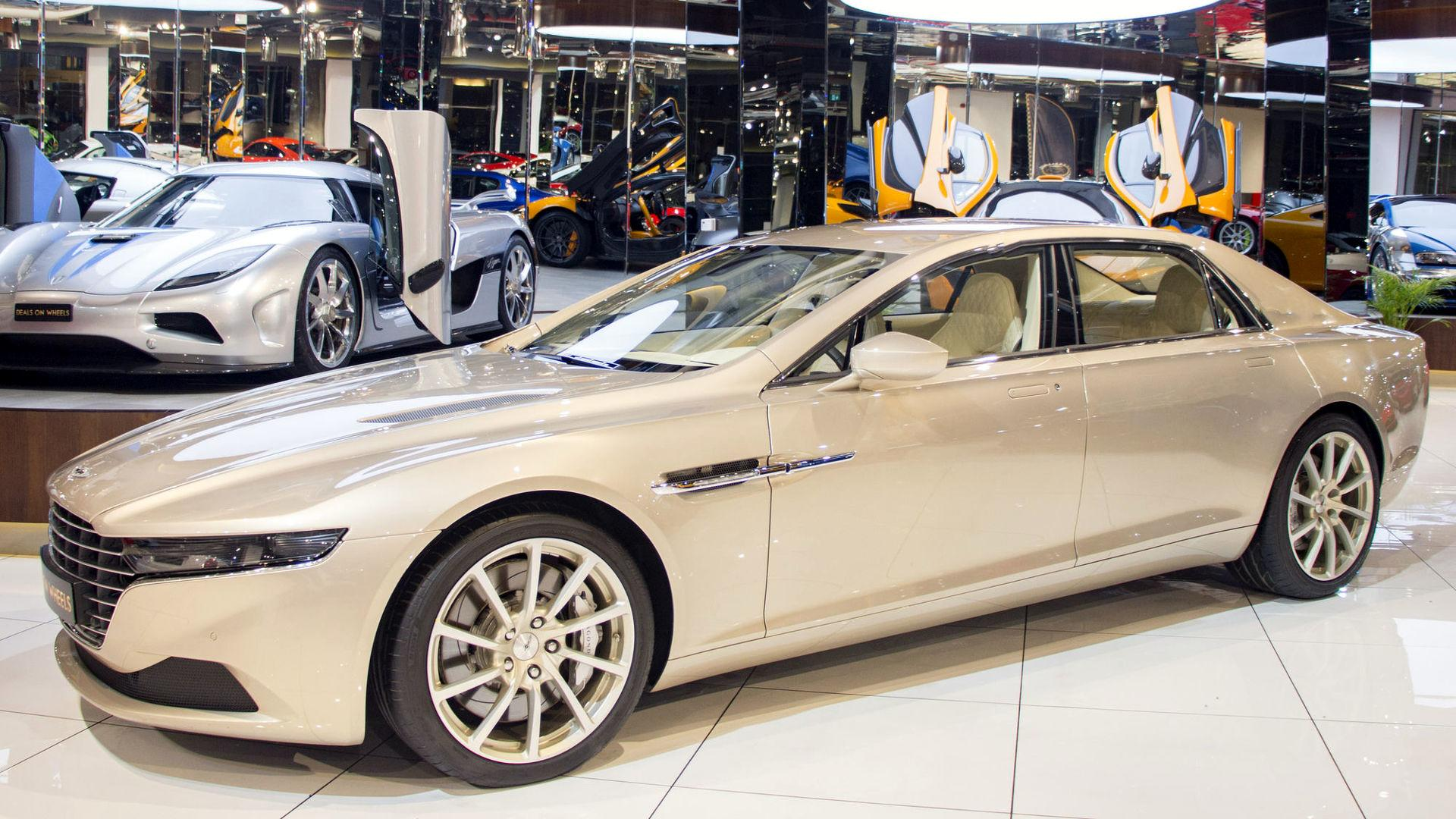 Hardly Used Aston Martin Lagonda Demands $680K