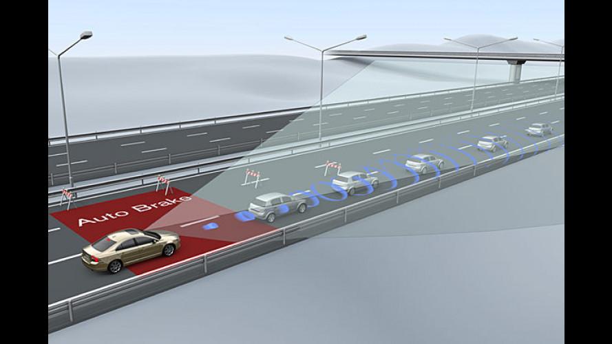 Volvo: Neue Sicherheitssysteme zur Unfallvermeidung