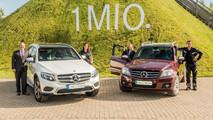 Mercedes-Benz GLK y GLC: un millón de ventas
