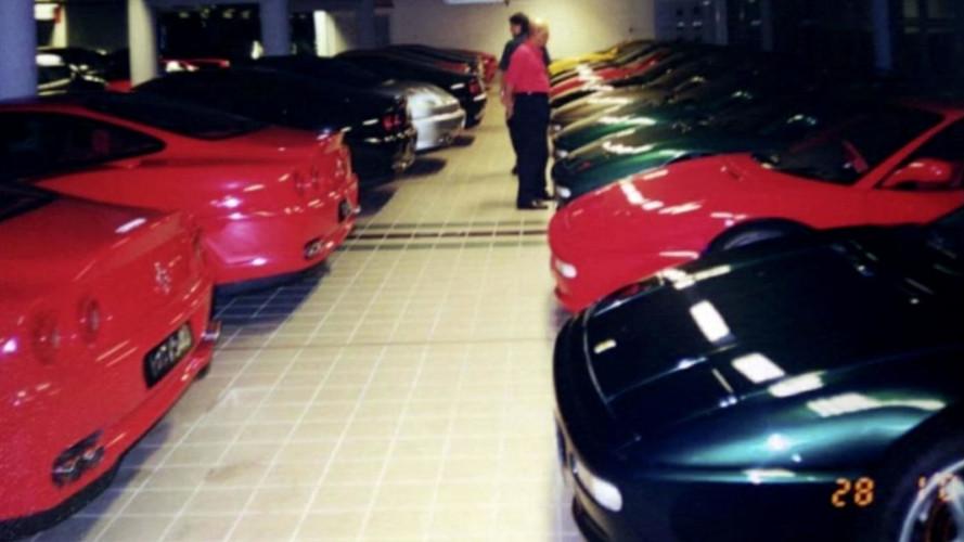 La colección de coches del Sultán de Brunei, al descubierto