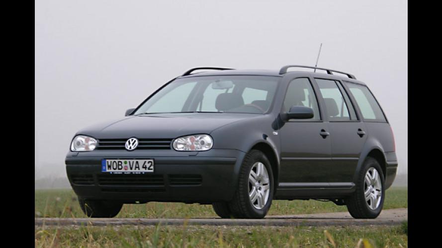 VW Golf Variant 2.0 Bifuel: Erdgasauto mit viel Notbenzin