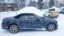 2018 Bentley Continental GTC Yeni Casus Fotoğrafları
