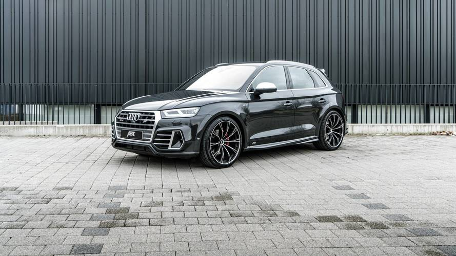 Audi SQ5 Lowered By ABT Up To The Point It's Now A Hatchback