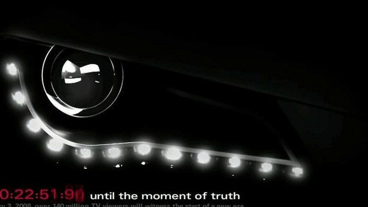 Countdown to Audi R8 commercial on Audi USA site