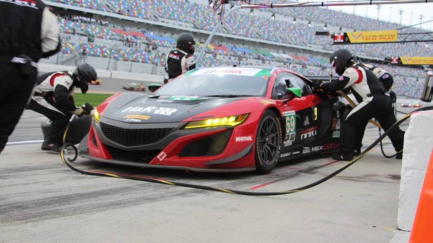 Acura Showed Hart At This Year's Rolex 24 At Daytona