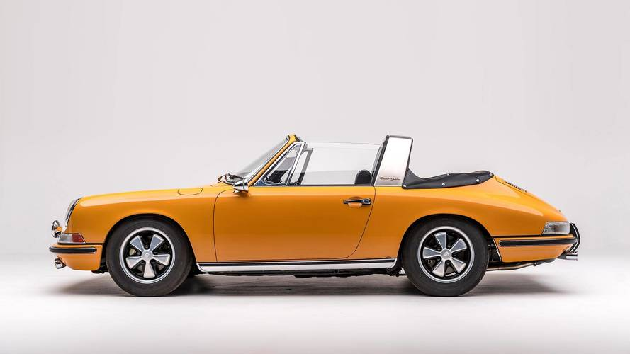 1968 Porsche 911 S Softwindow Targa Sportomatic Motor1 Com Photos