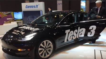 Model 3 Displayed At Geneva Motor Show, But Not By Tesla