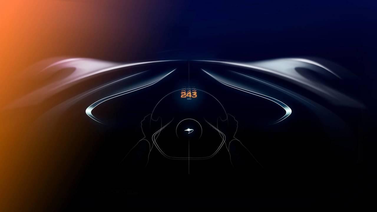 McLaren teases BP23 hypercar