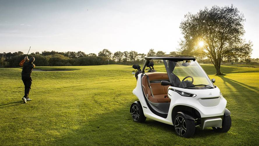 Hit The Links In Style With The Mercedes Garia Golf Cart