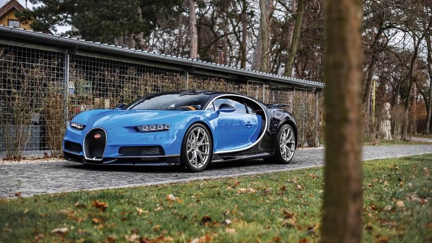 Une Bugatti Chiron bientôt aux enchères à Paris