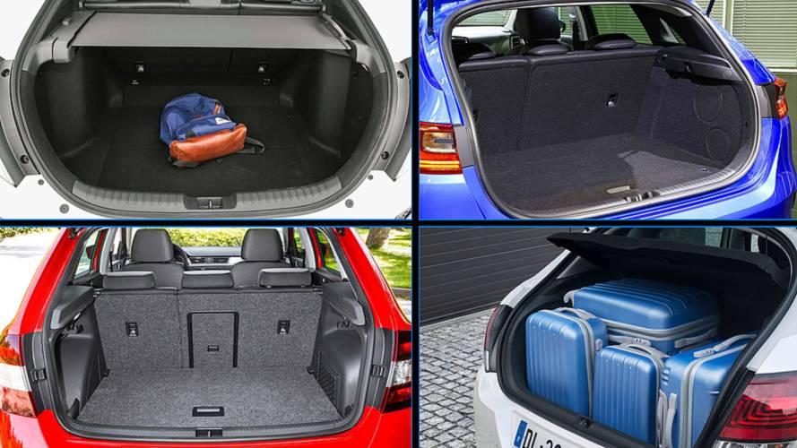 Los 8 coches compactos con más maletero