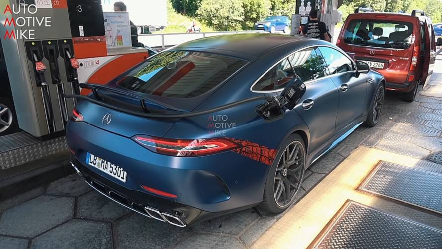 Mercedes Amg Gt 4 Door Coupe Back At The Nurburgring