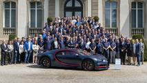 100-ik Bugatti Chiron