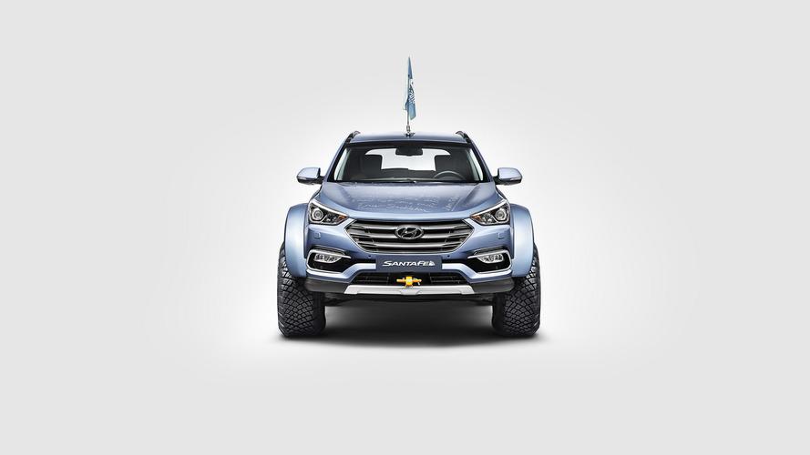 Hyundai Santa Fe Antarktisz expedíció