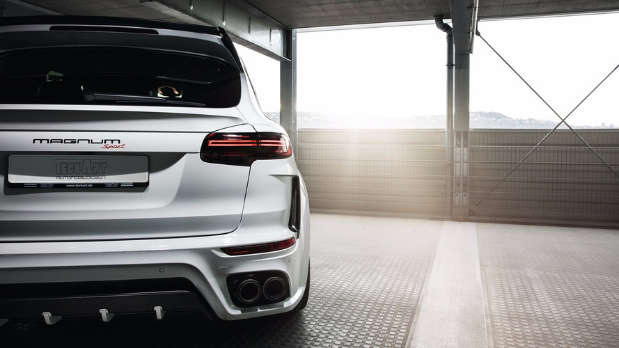 VIDEO – 720 ch pour le Porsche Cayenne Magnum Sport par TechArt