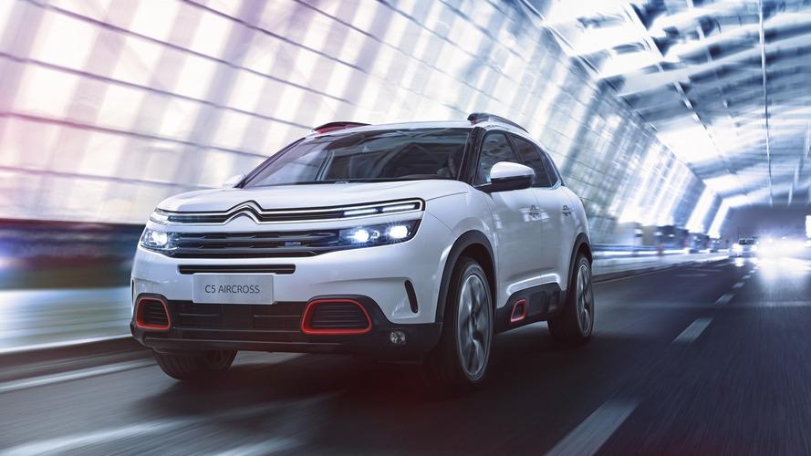 Citroën C5 Aircross estreia com suspensão hidráulica e muitas inovações