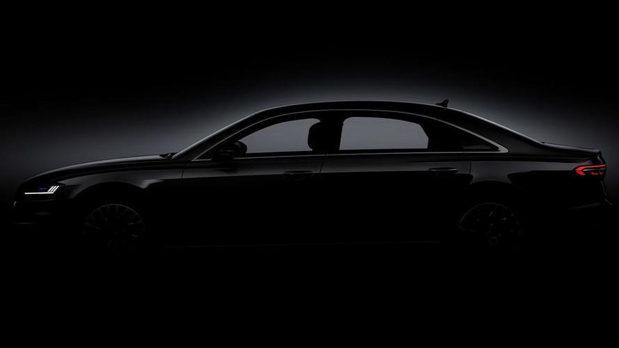 Audi A8 2018: primeras imágenes de su carrocería