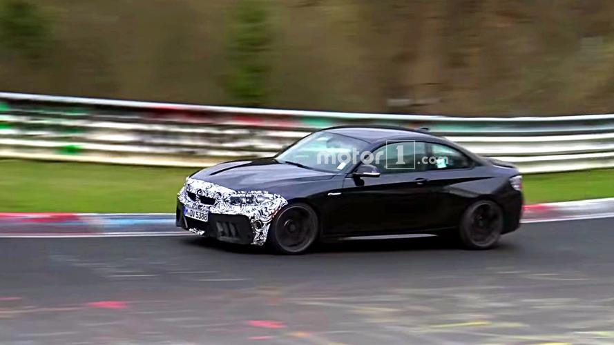 2018 BMW M2 CS prototipi casus fotoğrafları