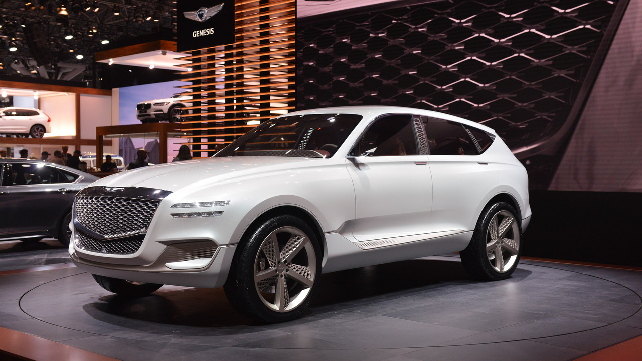 Genesis GV80 Plug-In Fuel Cell Concept - New York 2017