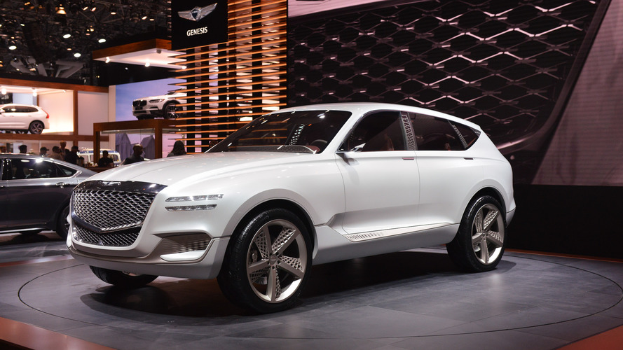 Genesis GV80 Plug-in Fuel Cell Concept