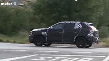 2018 Volvo XC40 screenshot from spy video