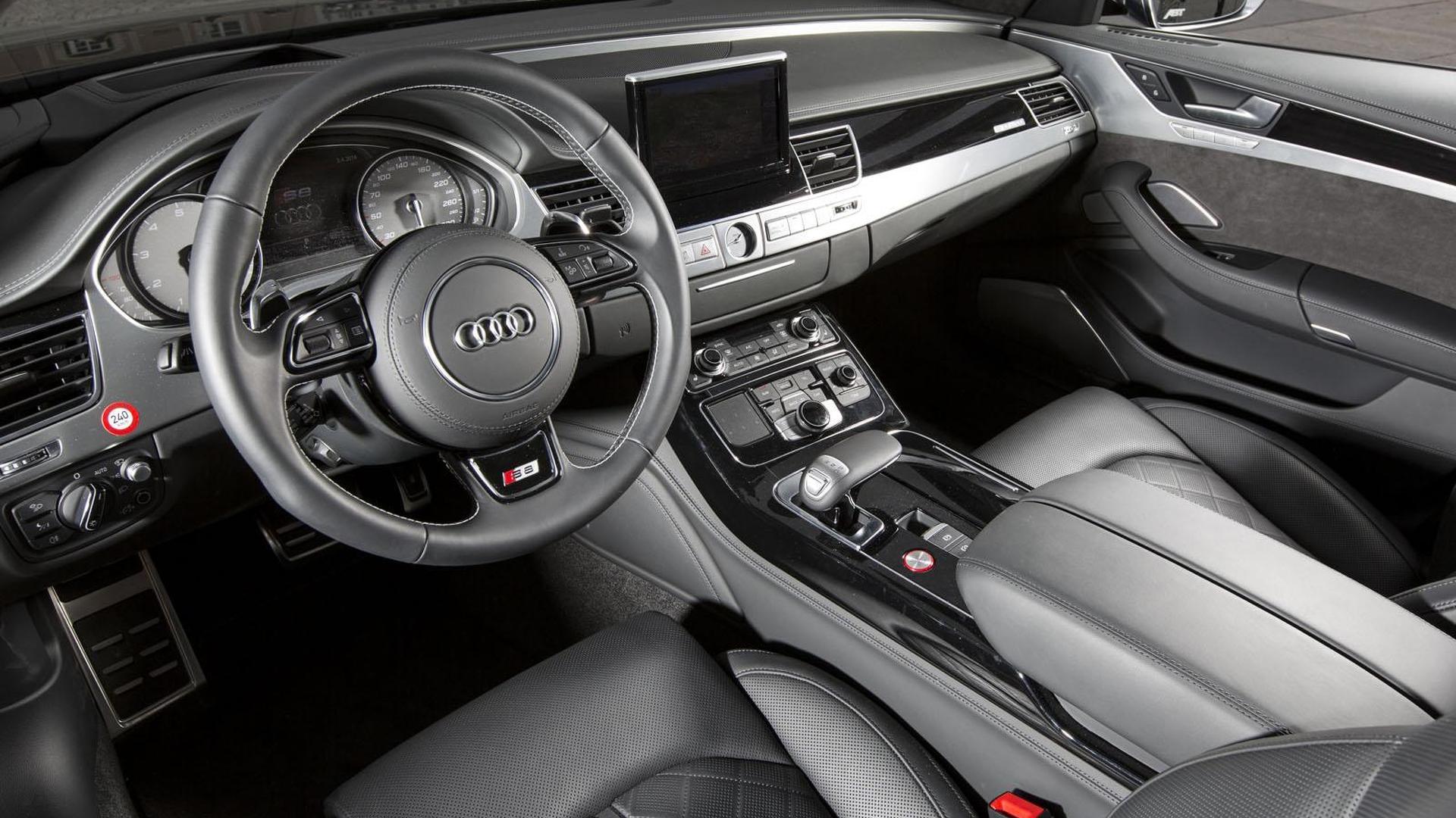 Фото салона Audi S8 от ABT Sportsline