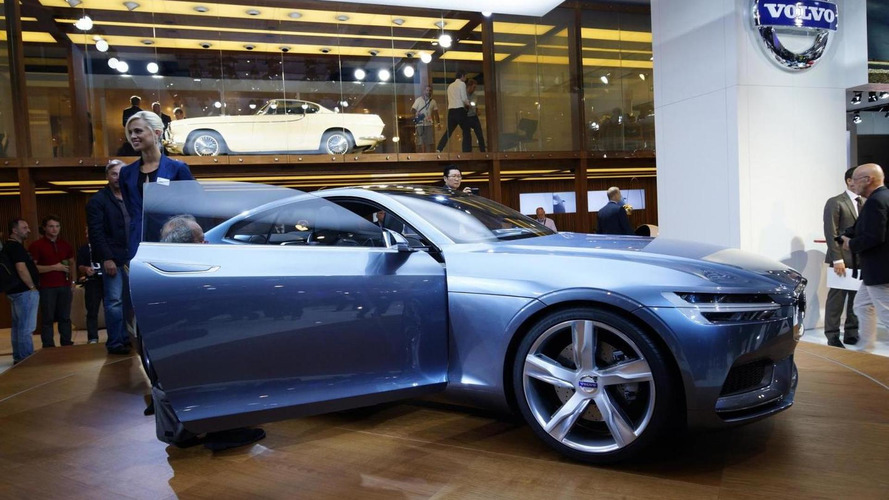 Volvo Concept Coupe unveiled in Frankfurt