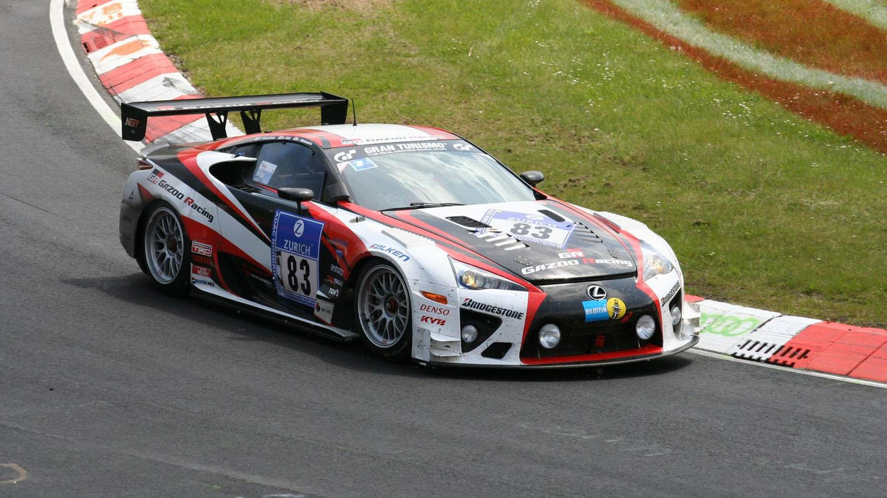 GAZOO Racing Lexus LFA at the Nürburgring 21.5.2012