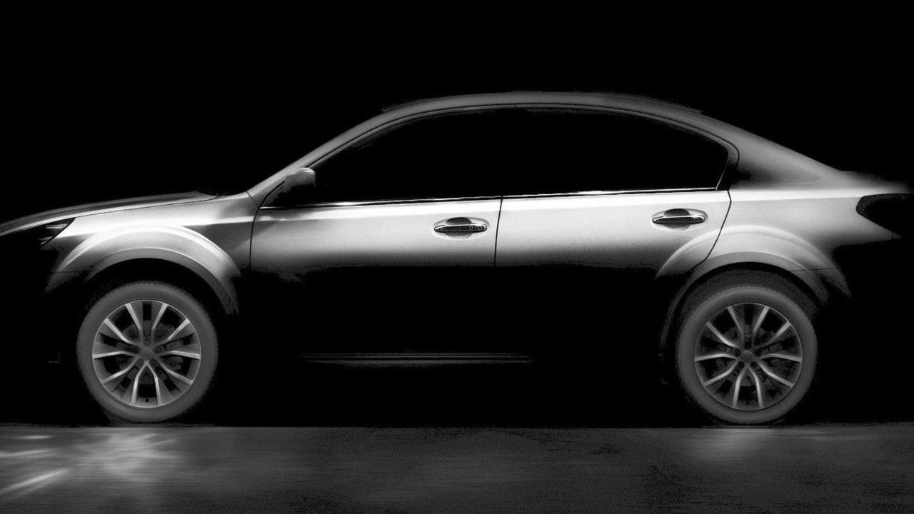 2013 Subaru Legacy teaser photo, enhanced, 06.4.2012