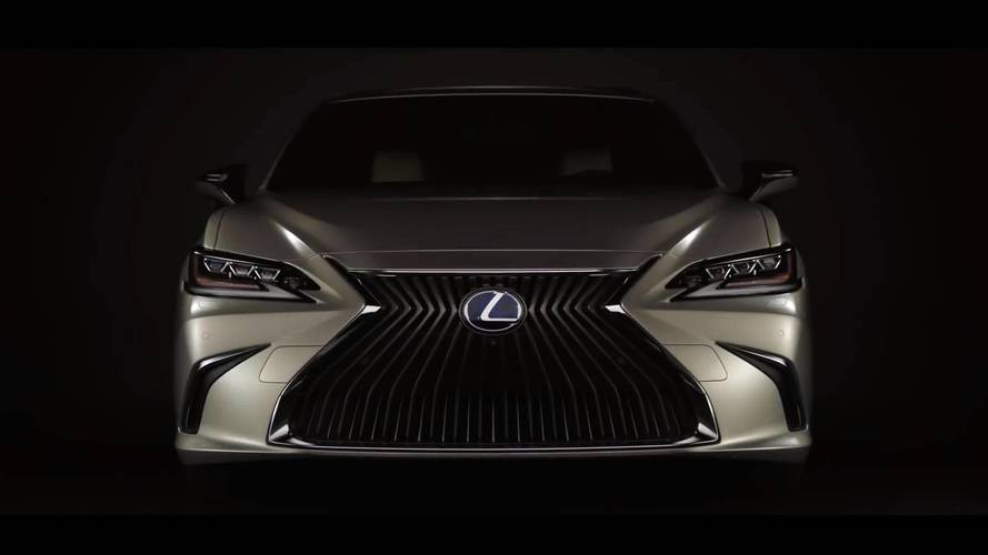 Lexus ES revealed ahead of its Beijing debut