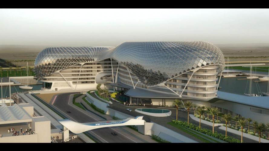 F1: ad Abu Dhabi l'ospitalità è
