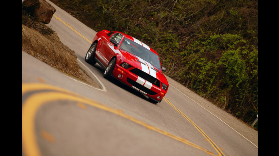 La Ford GT500 in Germania...