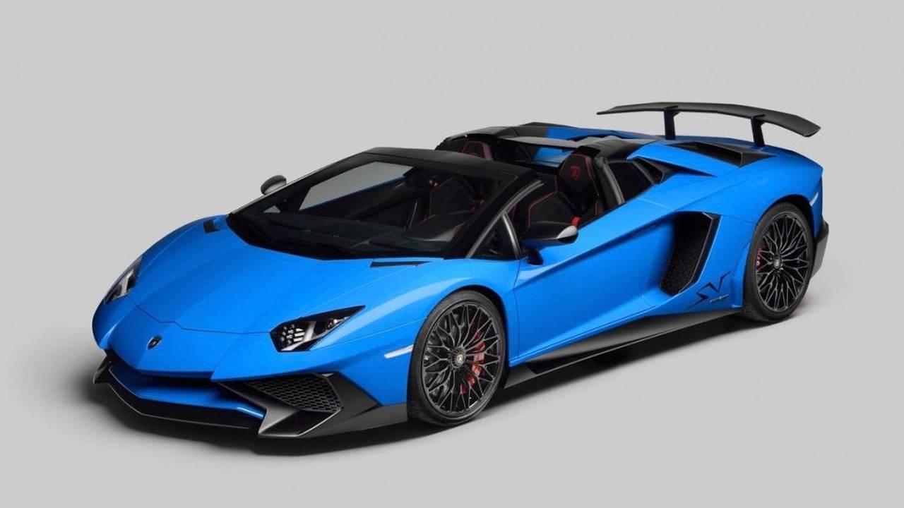 7. Lamborghini Aventador SV Roadster – 350 km/h