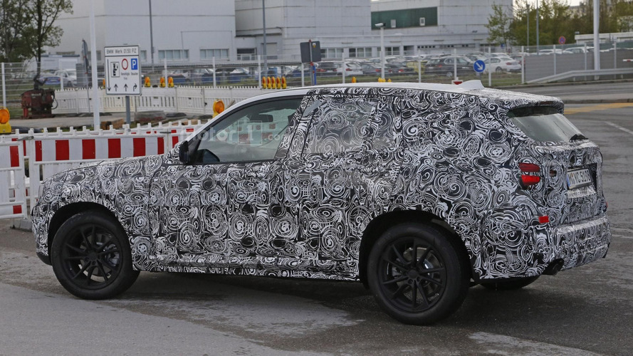 BMW X3 spy photos