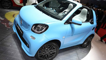 Smart fortwo cabrio Brabus live in Geneva