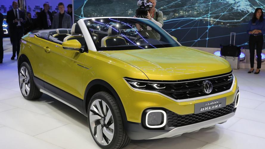 Volkswagen T-Cross 2018'de geliyor