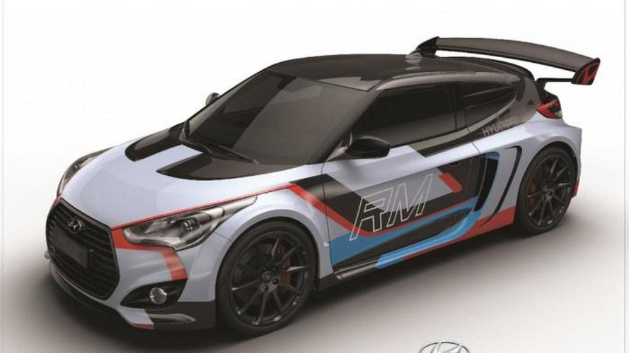 Hyundai RM15 mid-engined concept breaks cover in Seoul  with 300 HP