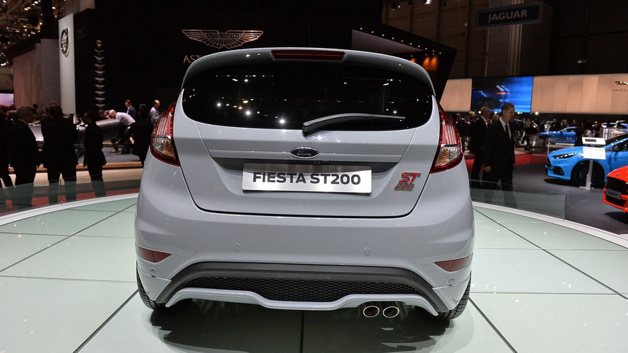 Ford Fiesta ST200 salutes Geneva as most powerful Fiesta ever