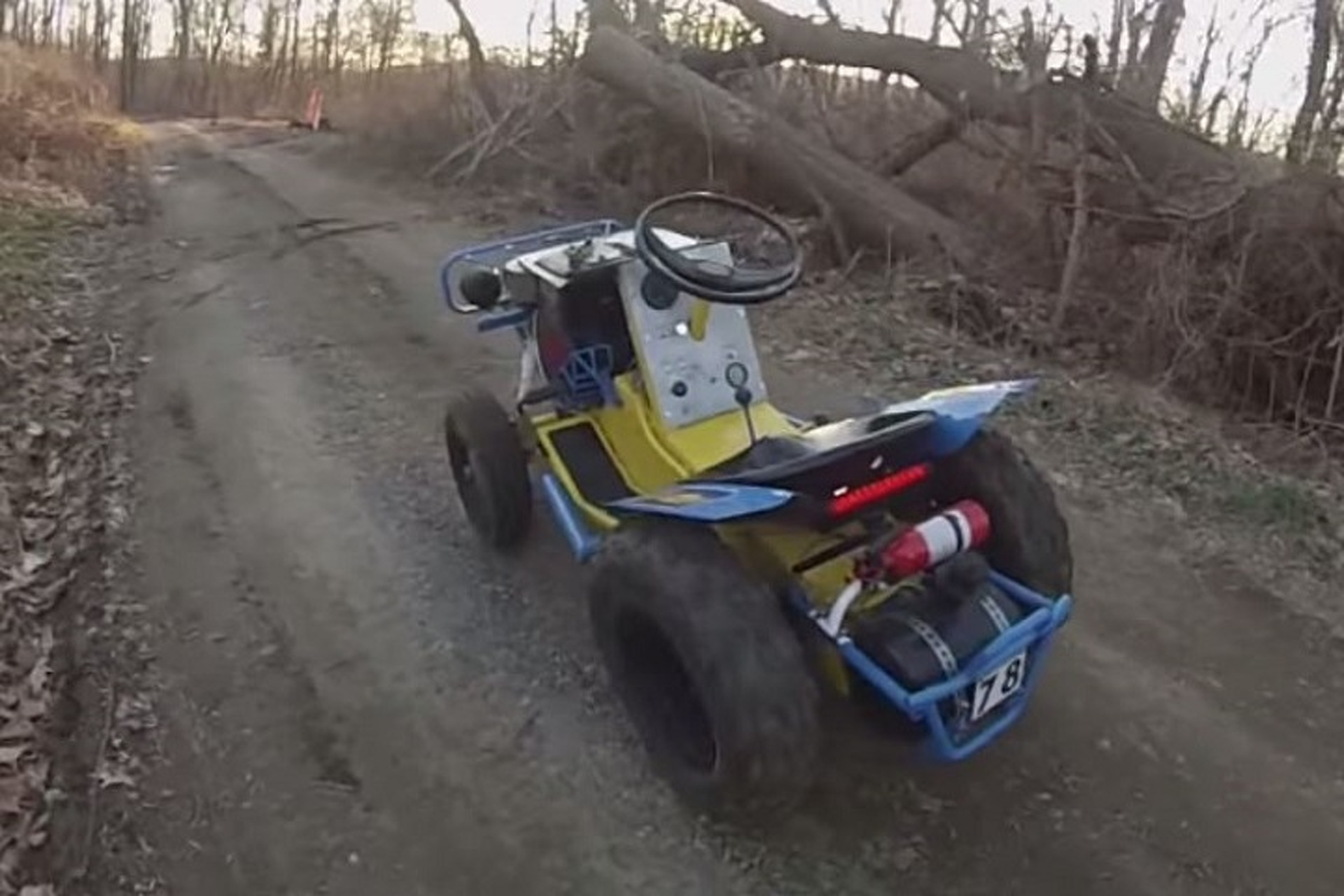 Watch This Insane Homemade Baja Tractor in Action