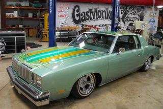 Gas Monkey Garage Turned a '78 Cutlass into a Minty Lowrider