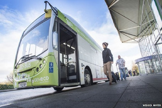 You Can Ride a Poop-Powered Bus in the UK