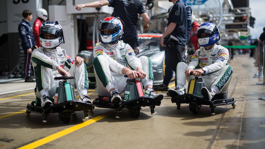 Custom Crazy Carts join Aston Martin's team at Le Mans