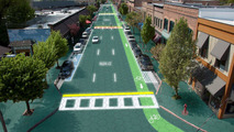 Solar road panels