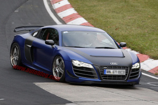Hardcore Audi R8 Caught Testing on Nurburgring