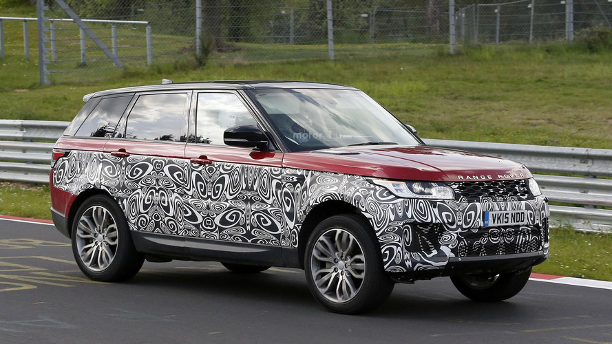 Land Rover Range Rover Sport spied with refreshed face
