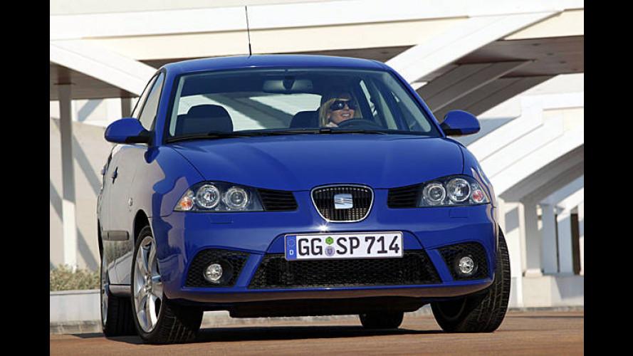 Mehr Pferde: Seat Ibiza mit zwei stärkeren Basisbenzinern
