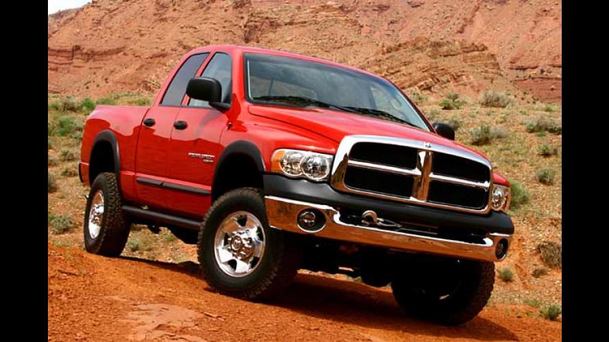 US-Gelände-Viecherei: Dodge Ram in zwei neuen Versionen