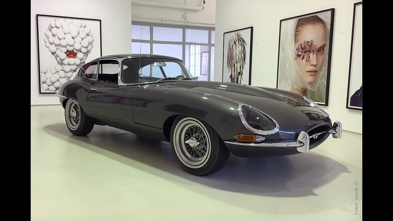 1964er Jaguar E-Type Serie 1 3.8 Coupé von Keke Rosberg