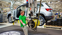 Production Skoda Karoq
